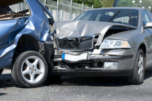 Two car accident representing how our lawyers can help you with your auto accident case
